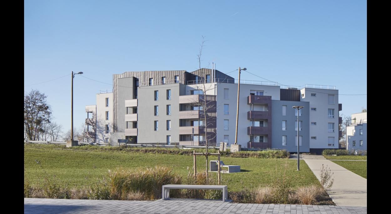 RO.ME Architectes - 38 logements collectif - Photographe P.Grandsard