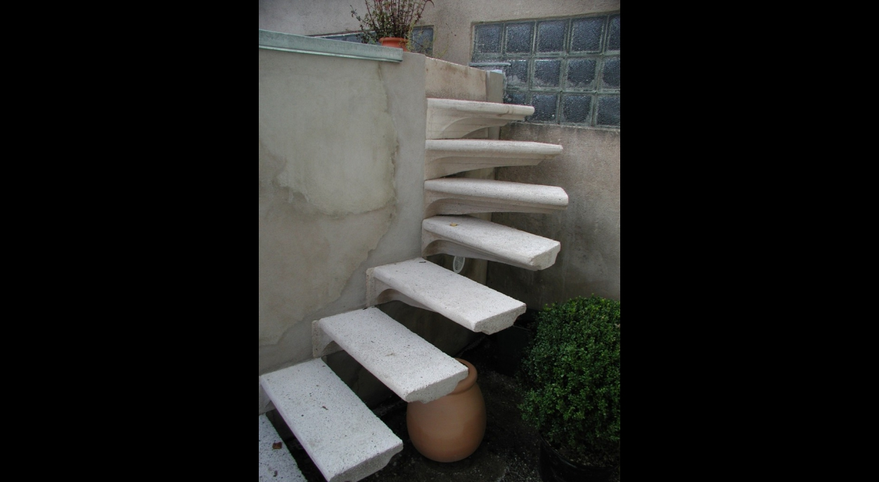 escalier du garage