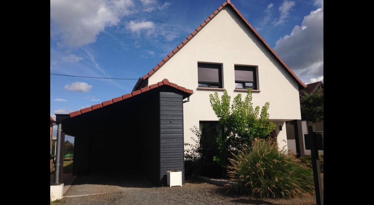 Diaporama de celine ania offenburger architecte ordre for Projet maison individuelle