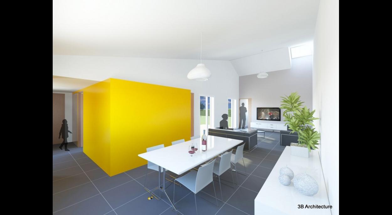 Construction d'une maison individuelle contemporaine en lotissement à Thionville 57