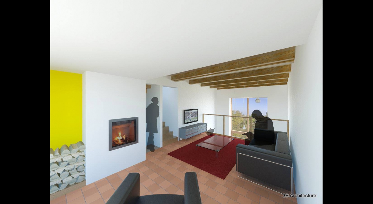 Restructuration d'une maison Lorraine dans les coteaux du Toulois - 54