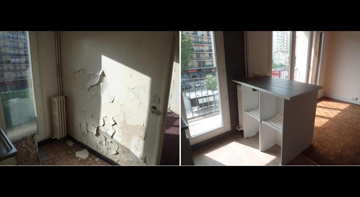 Rénovation d'un appartement. Châtillon (92320)
