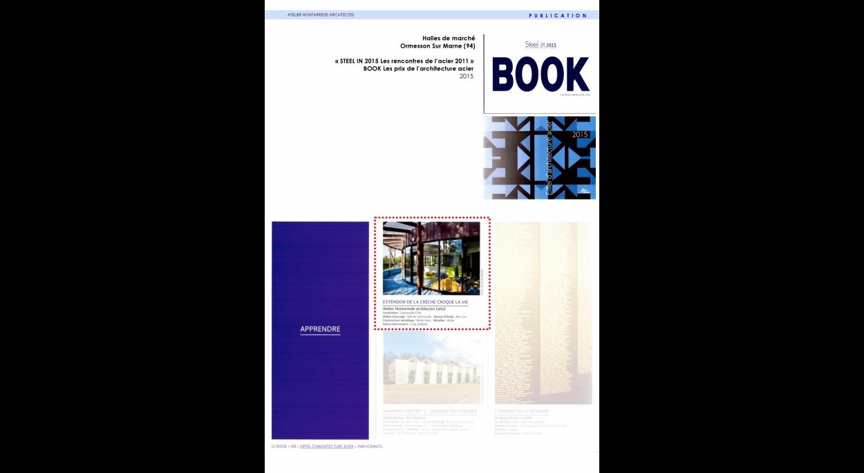 Publication: STEEL: IN 2015 BOOK