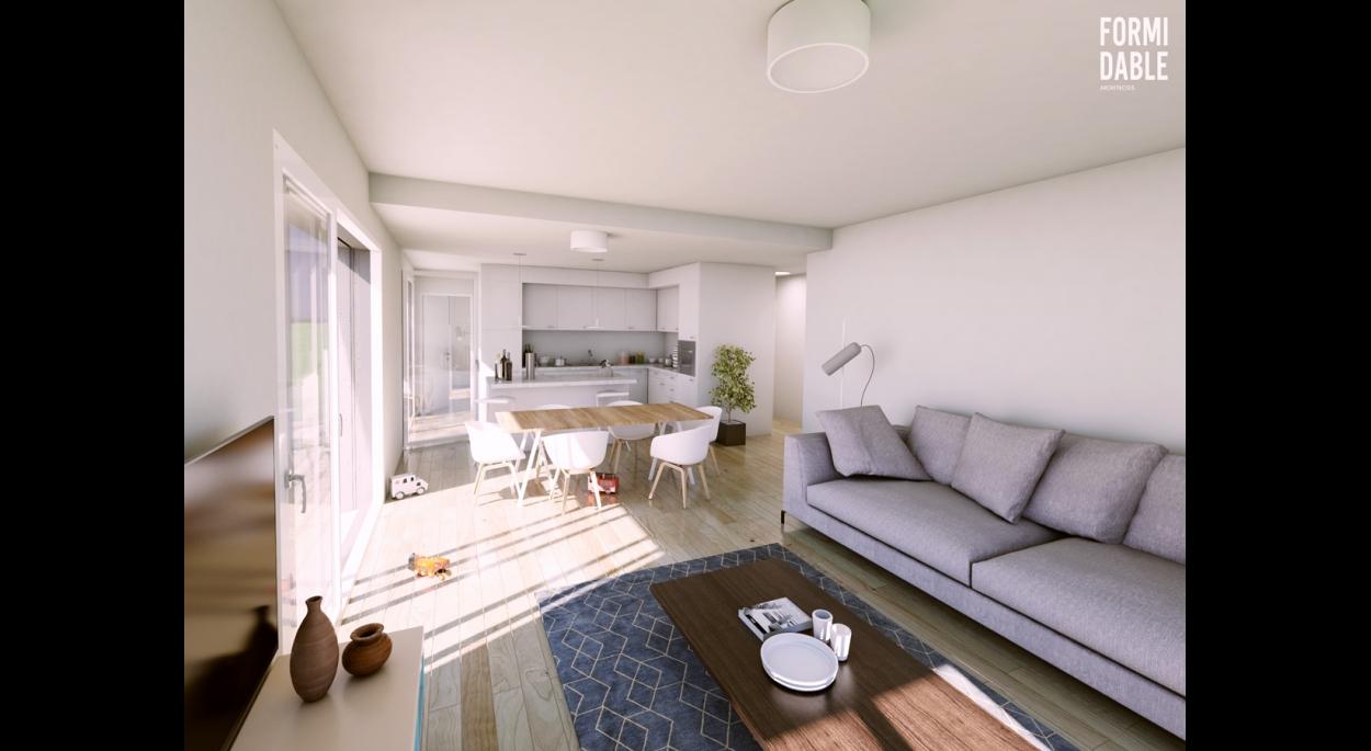 aménagement intérieur cuisine et séjour