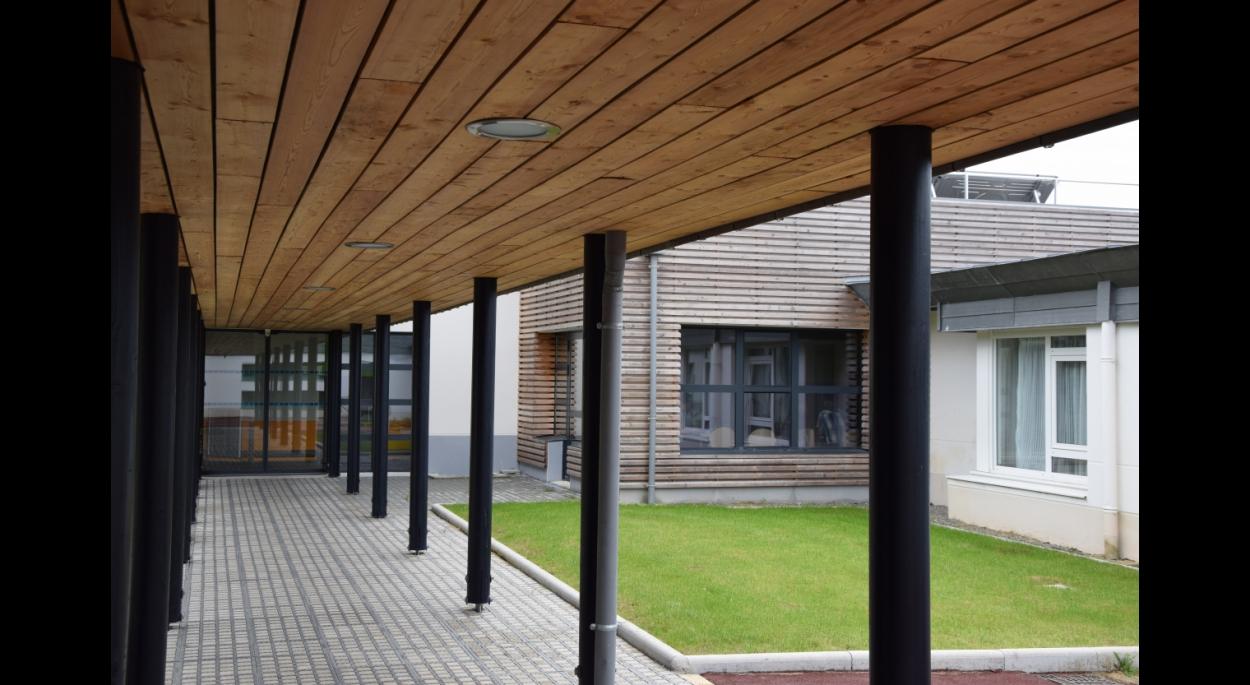 olivier samzun architecte, extension foyer pour personnes adultes handicapées