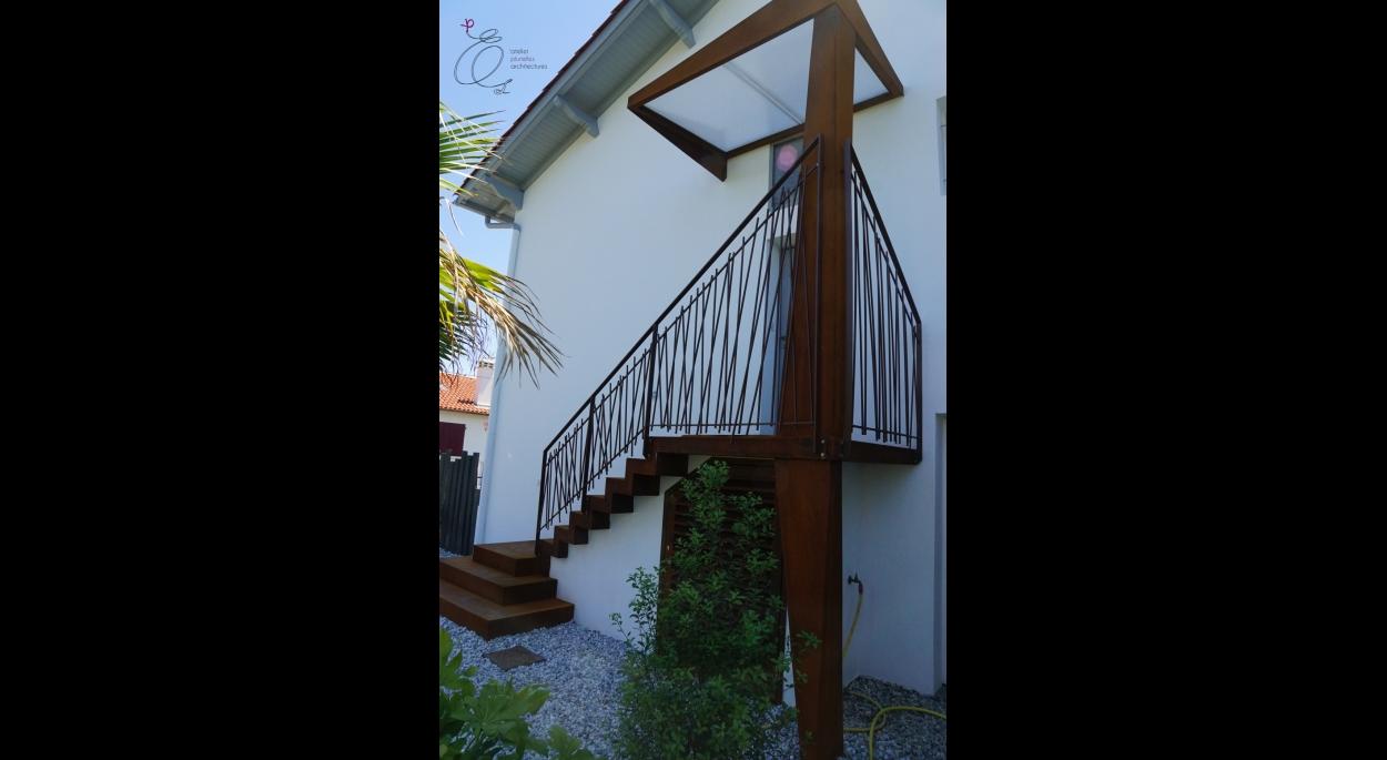Rénovation d'une maison à Bidart - Après