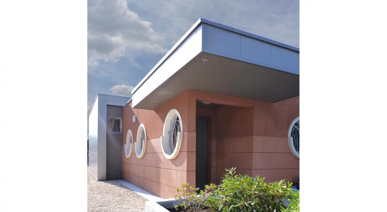 HUMEZ ARCHITECTURE – Damien-Olivier HUMEZ – architecte DPLG en Vendée(85): CLUB DE PLONGÉE DE JOIGNY 01