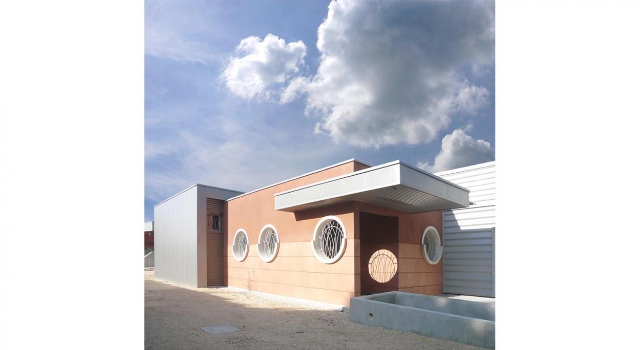 HUMEZ ARCHITECTURE – Damien-Olivier HUMEZ – architecte DPLG en Vendée(85): CLUB DE PLONGÉE DE JOIGNY 03