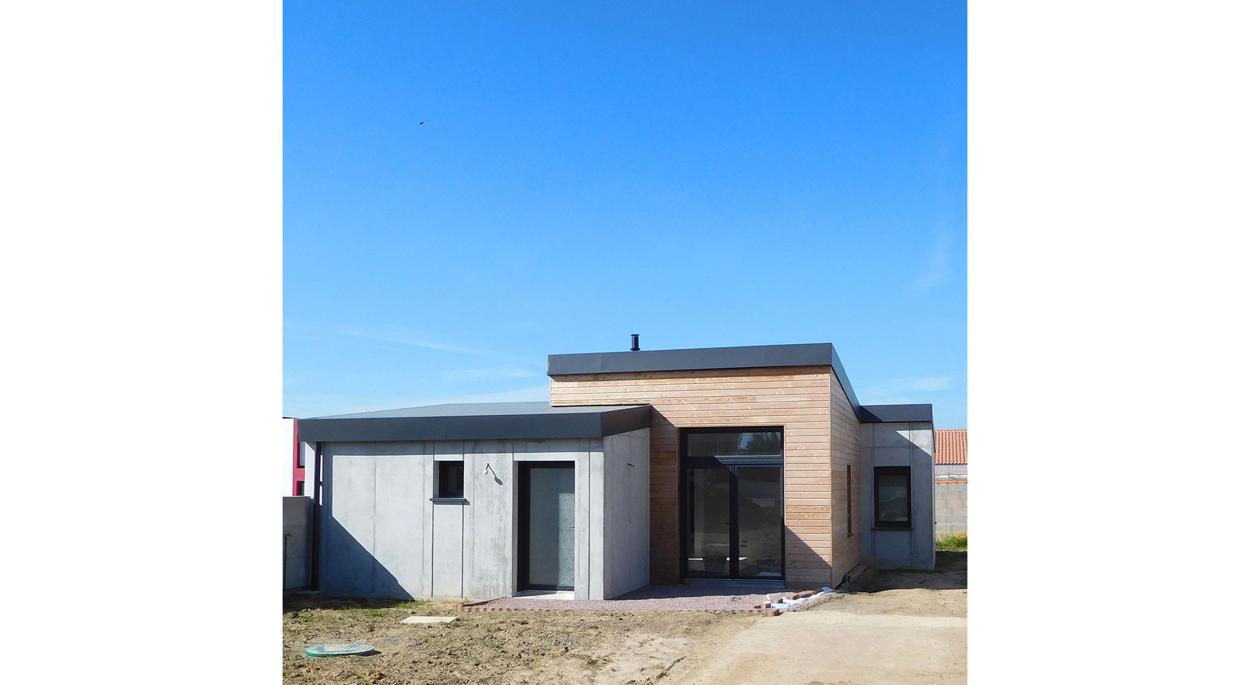 HUMEZ ARCHITECTURE – Damien-Olivier HUMEZ – architecte DPLG en Vendée(85): MAISON CHÂTEAU D'OLONNE 01 - 02