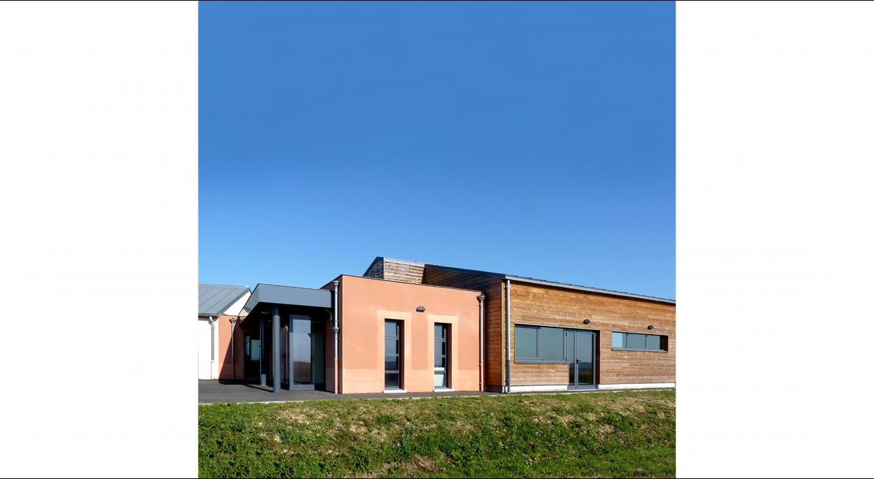 HUMEZ ARCHITECTURE – Damien-Olivier HUMEZ – architecte DPLG en Vendée(85): SALLE DES FÊTES DE FORTERRE 02