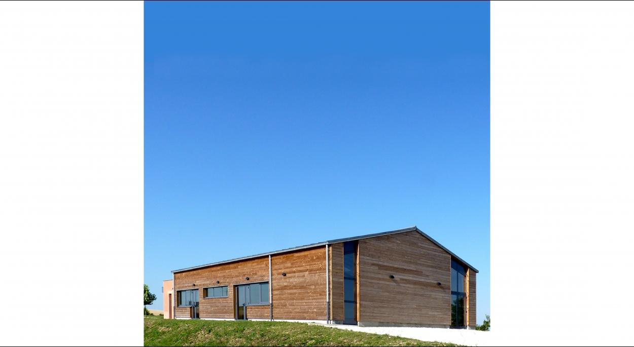 HUMEZ ARCHITECTURE – Damien-Olivier HUMEZ – architecte DPLG en Vendée(85): SALLE DES FÊTES DE FORTERRE 03