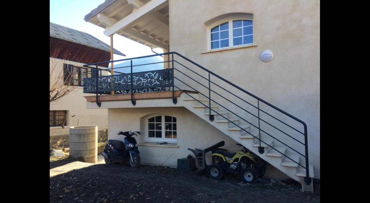 Nouvel accès terrasse