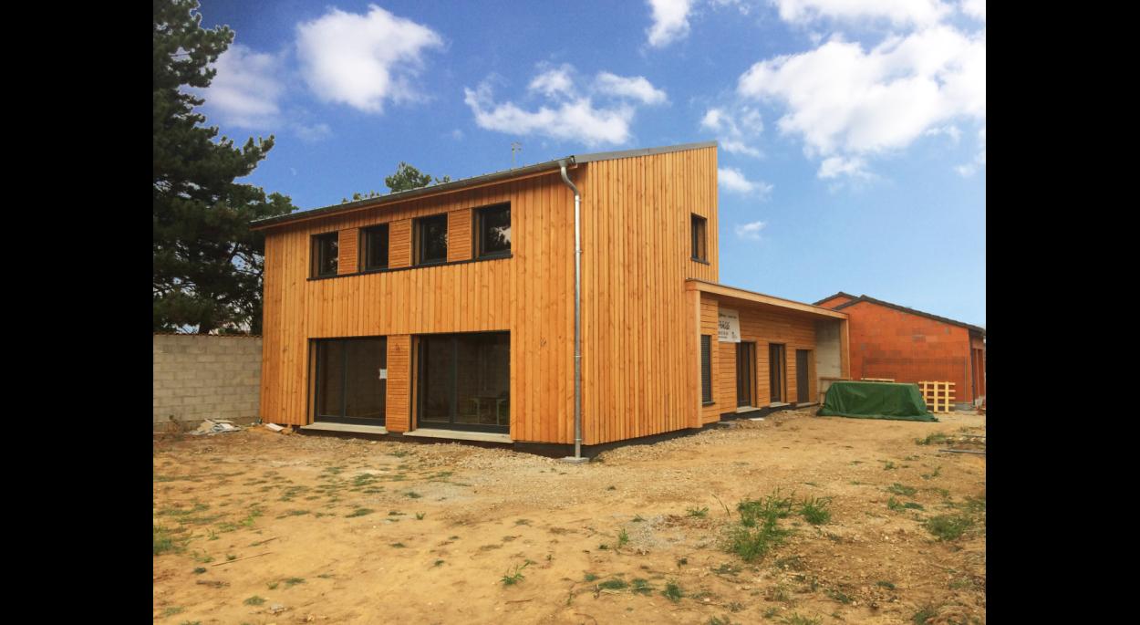 Maison ossature bois Benjamin Ballay Architecte
