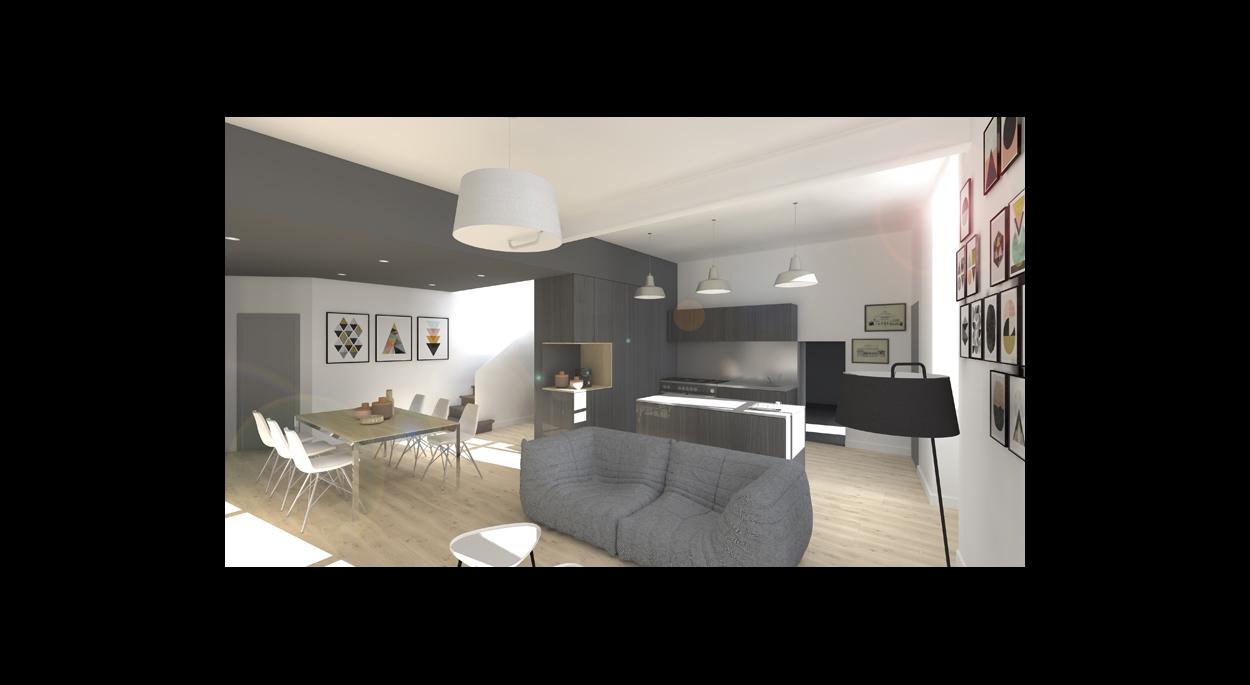 Rénovation & Transformation d'une maison à Puichéric, Aude