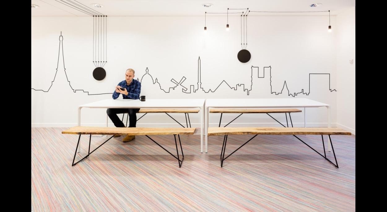 Siège social de La Parisienne par studio razavi architecture