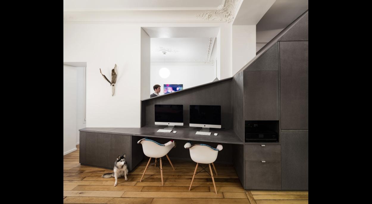 Appartement XIV par studio razavi architecture