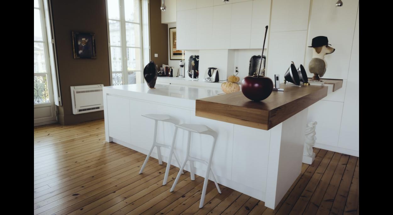 cuisine bordeaux luxe appartement quai dellu darblade