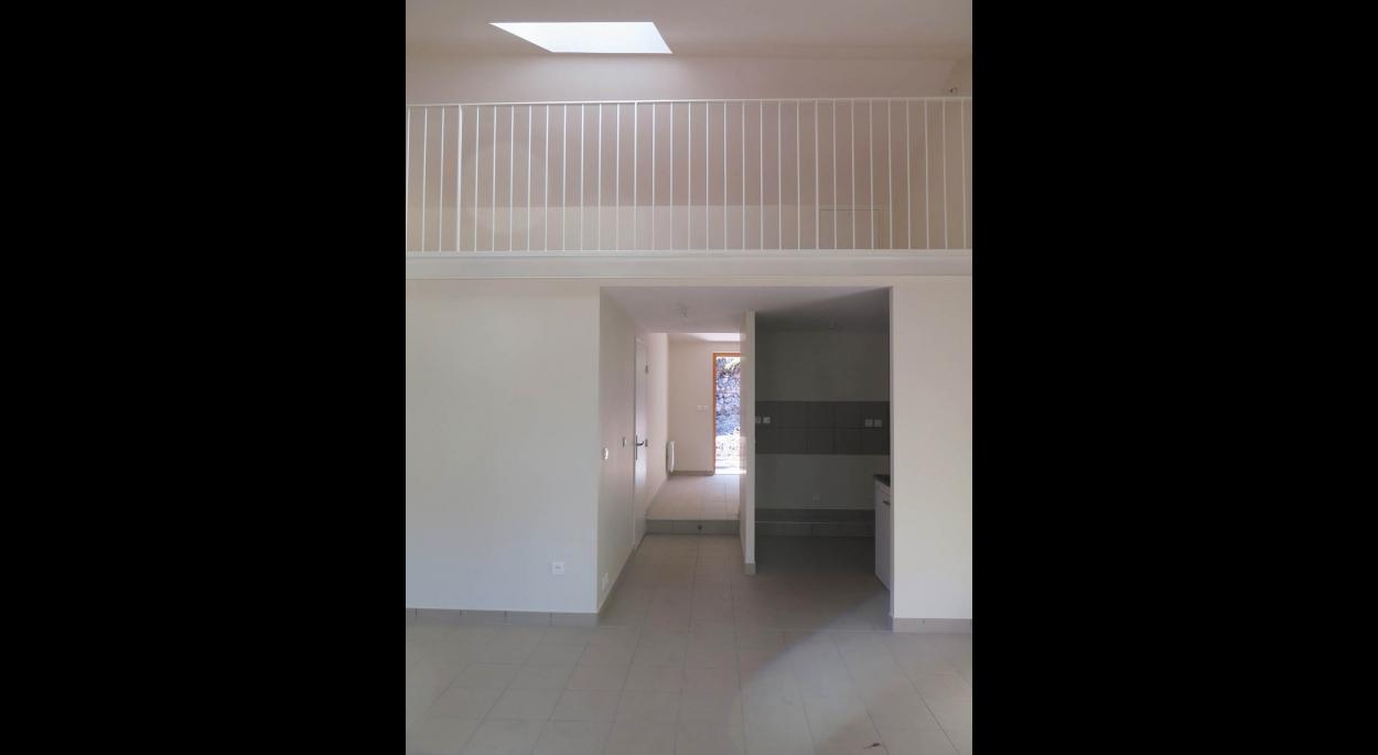 renovation de deux logements à marcoux Benoit Séjourné architecte
