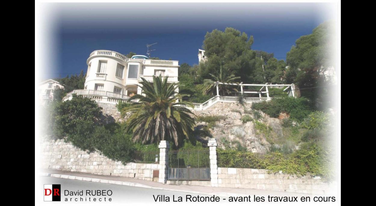 Villa Côte d'Azur - rénovation en cours
