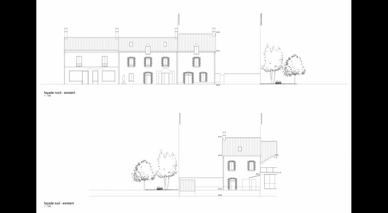 SUPA | construction d'une maison mitoyenne | cesson-sévigné
