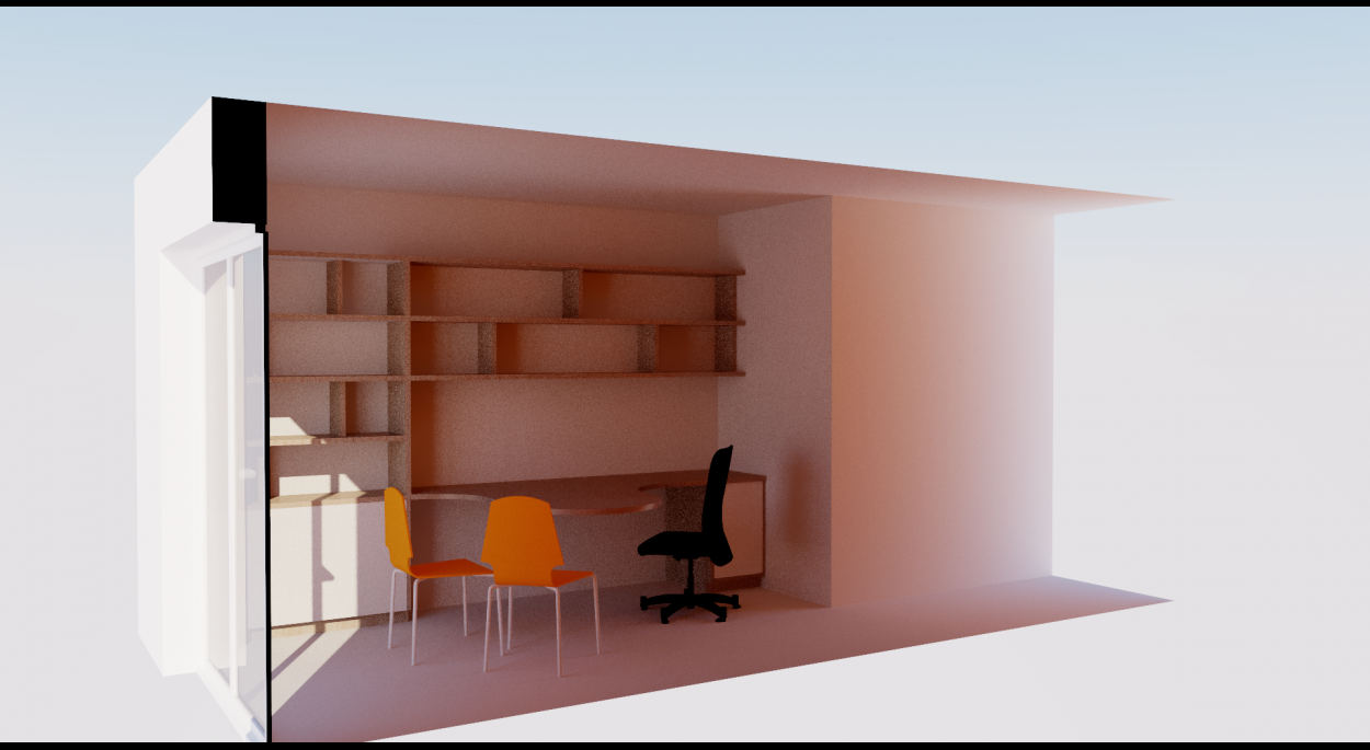 Visuel N°2 à partir de la maquette 3D