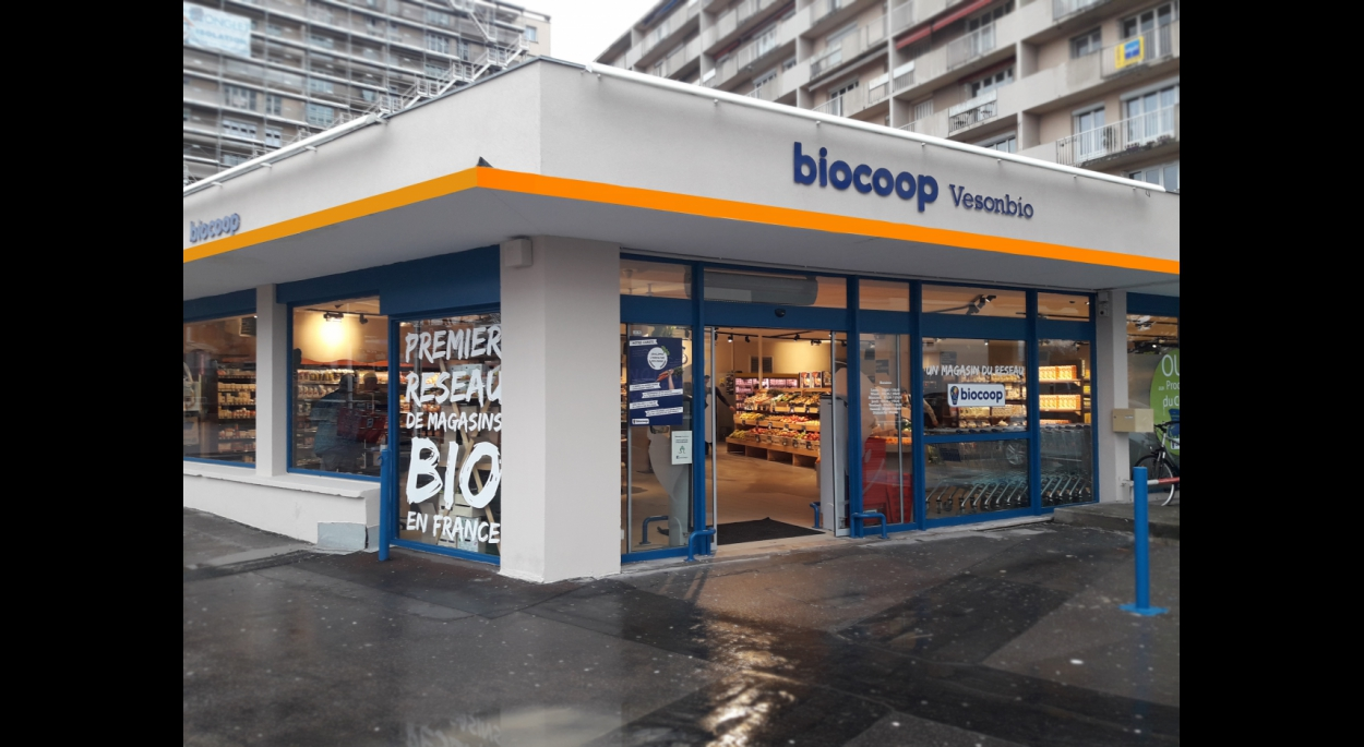 Aménagement d'un magasin BIOCOOP