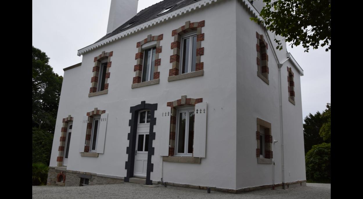 olivier samzun architecte rénovation thermique maison de maître à Fouesnant