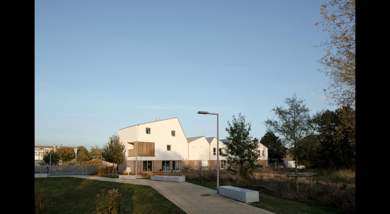 Création de 7 logements ZAC Biancamaria à Vandoeuvre-les-Nancy - studiolada architectes