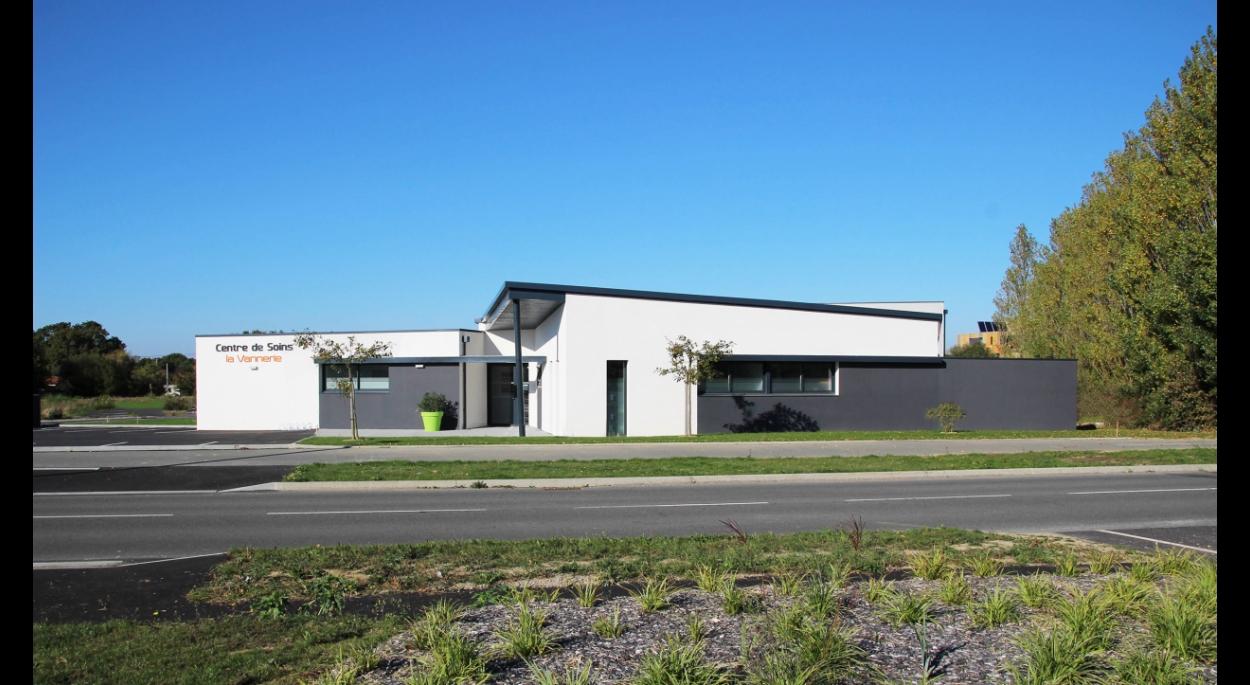 SL20 ARCHITECTURE - Cabinet médical - Olonne-sur-Mer - vue projet