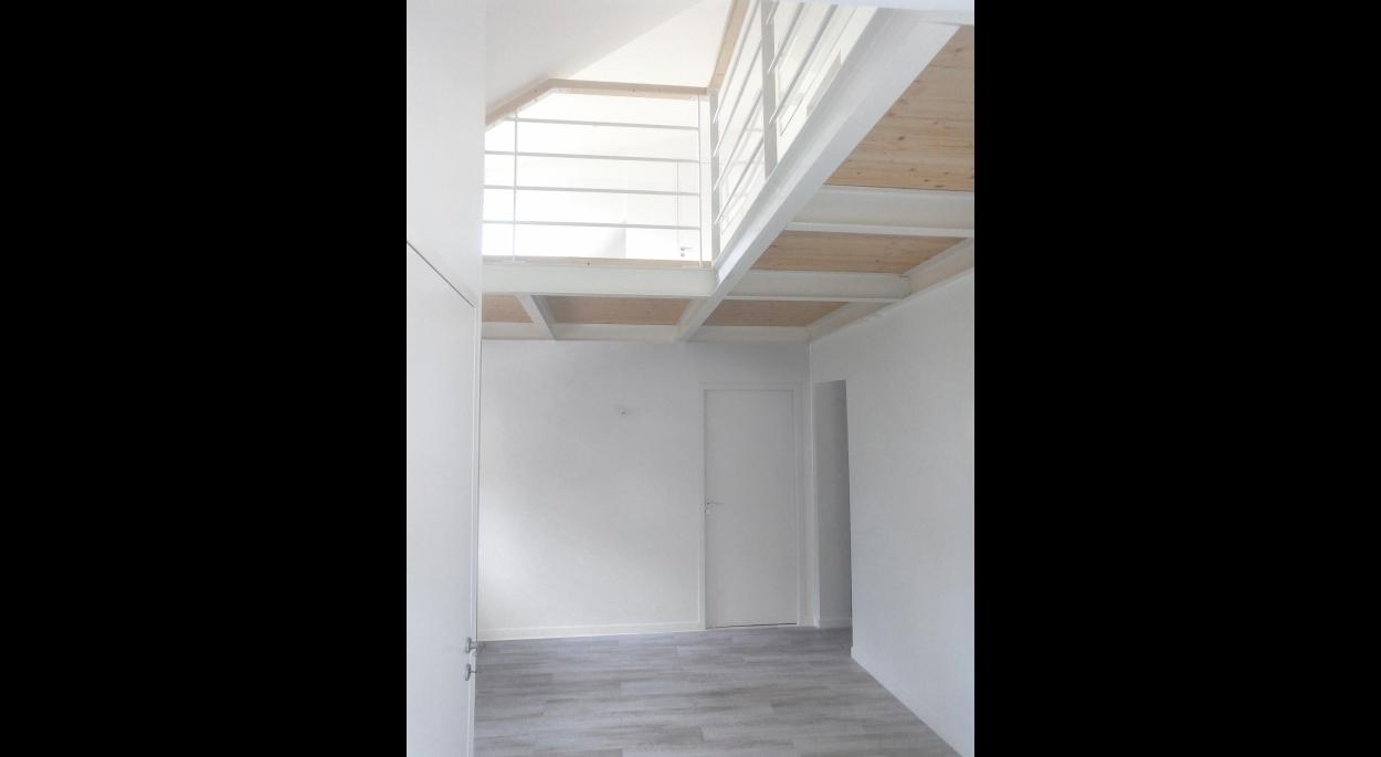 SL20 ARCHITECTURE - Extension rénovation - Les Sapins d'or - Saint-Brévin-les-Pins - vue intérieur