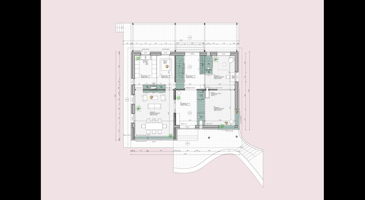 Plan du Rez-de-Chaussée ( UN1ON )