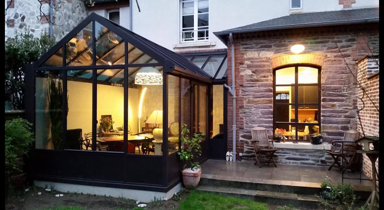14-02-Extension vitrée | AT Home - Architecture et Maîtrise ...