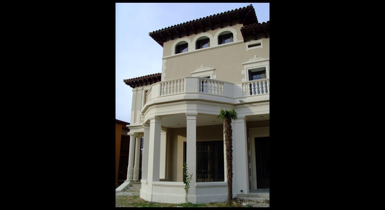 Détail de la façade Sud