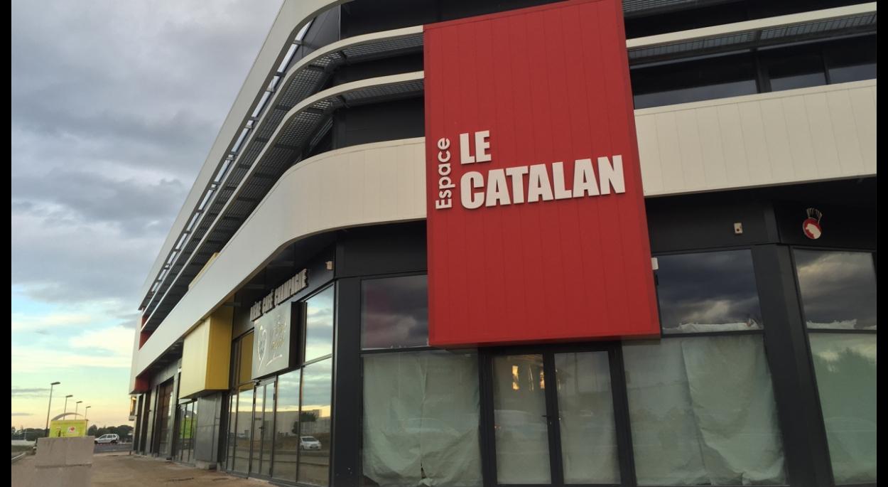 batiment d'activités, lieu de travail au Mas Guérido, Cabestany, Pyrénées Orientales