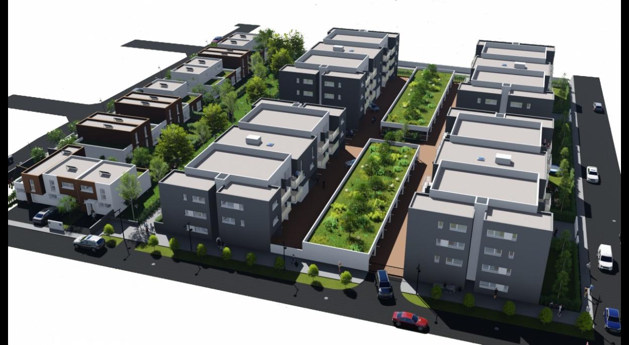 106 logements, logements collectifs et maisons de ville prochainement situés sur la commune de Mont de Marsan, département des Landes