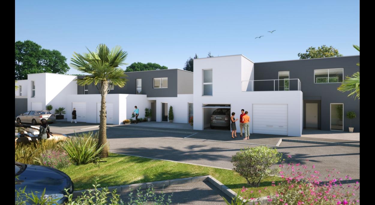 logements collectifs, villas individuelles à Vias, département de l'Hérault