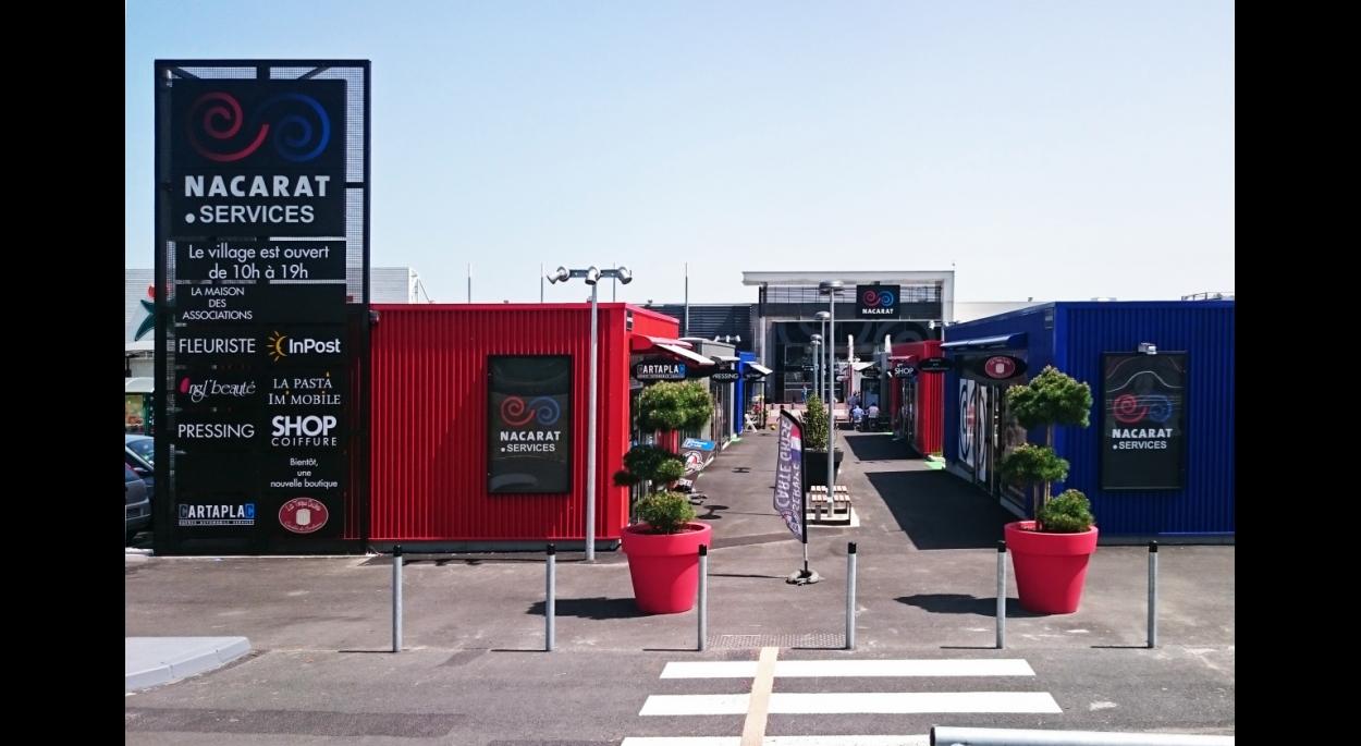 Création de boutiques extérieures
