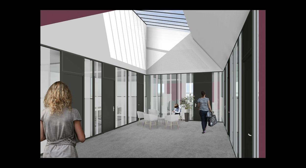 Espaces de travail du Musée d'Art Moderne & Contemporain