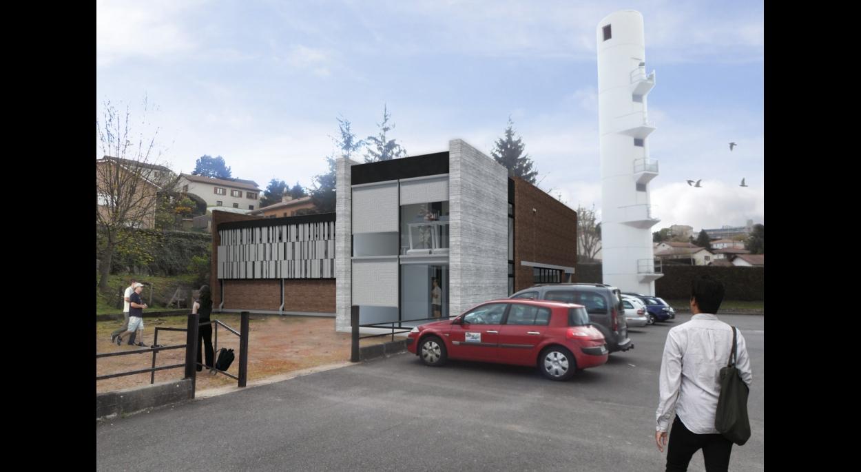 Gymnase Centre d'Incendie et de Secours Firminy