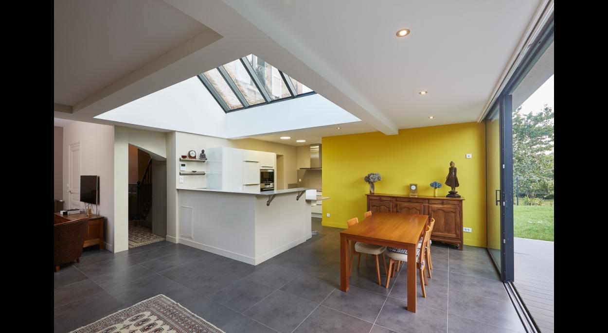 Restructuration et extension d'une maison