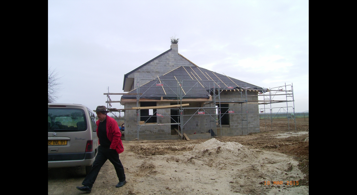 Création d'une maison