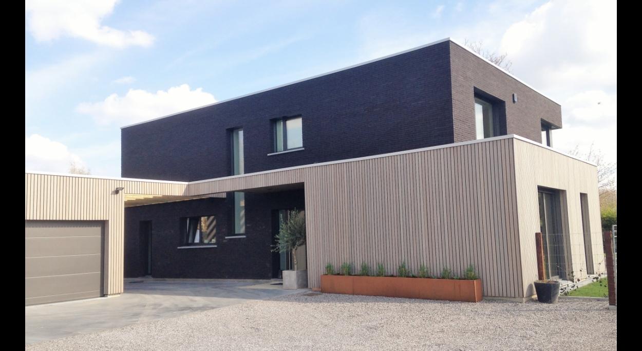 maison contemporaine à Templeuve