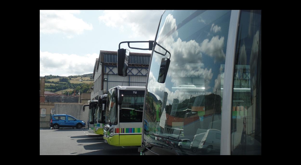 Transparc Réaménagement dépôt de bus