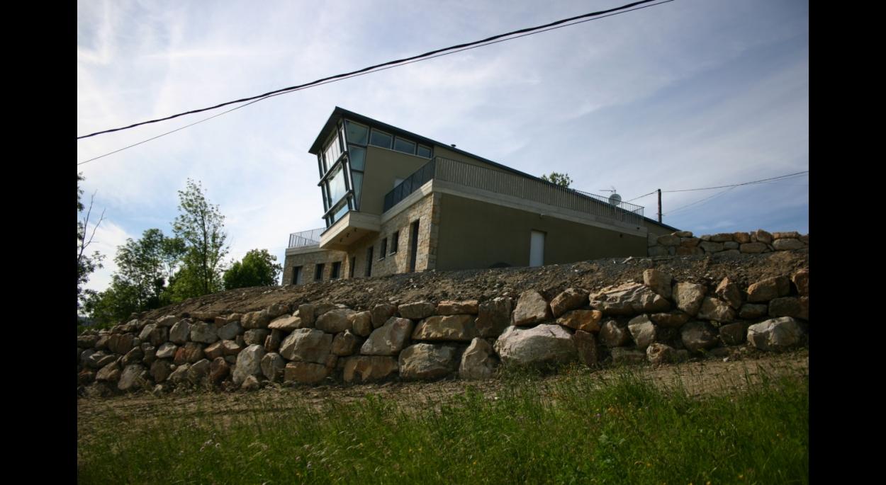 Maison individuelle Haute-Loire Didier Alliber Architecte