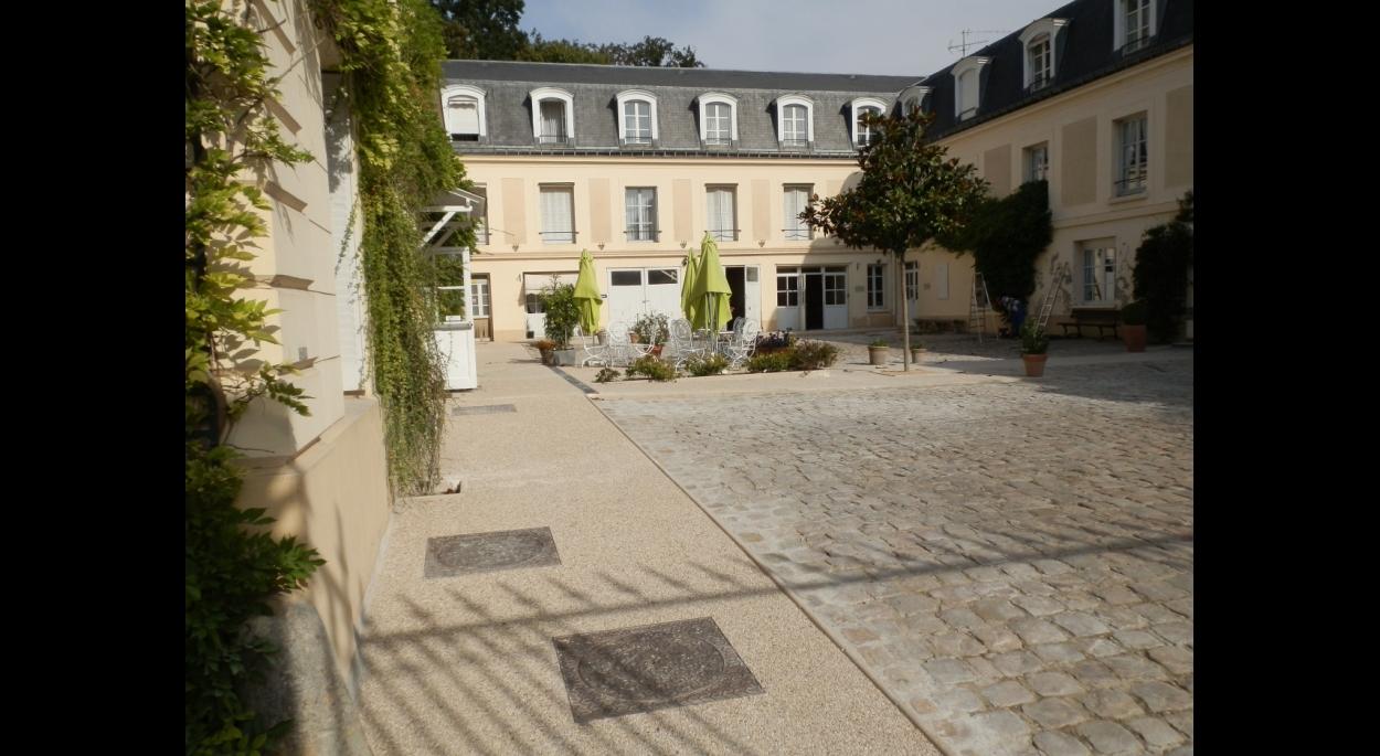 Cour intérieur Château du Val