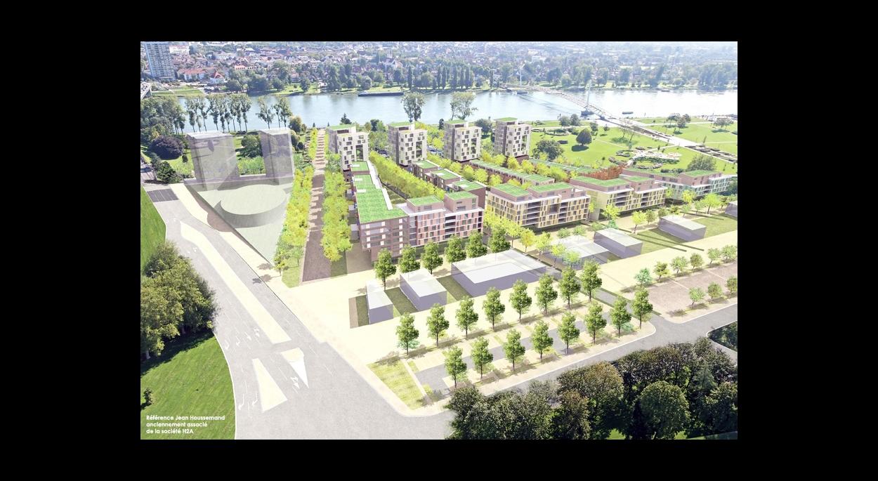 Projet urbain de la Porte de France