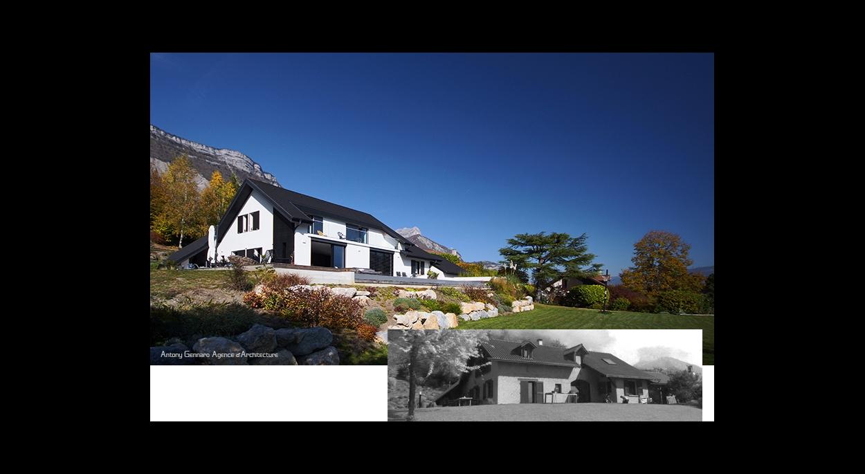 Extension d'une maison individuelle, Transformation et Rénovation énergétique