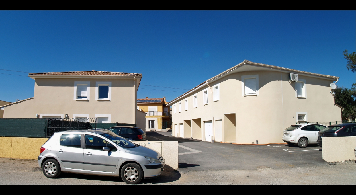 Cournonsec Montpellier Auguet Architecte maisons individuelles groupées
