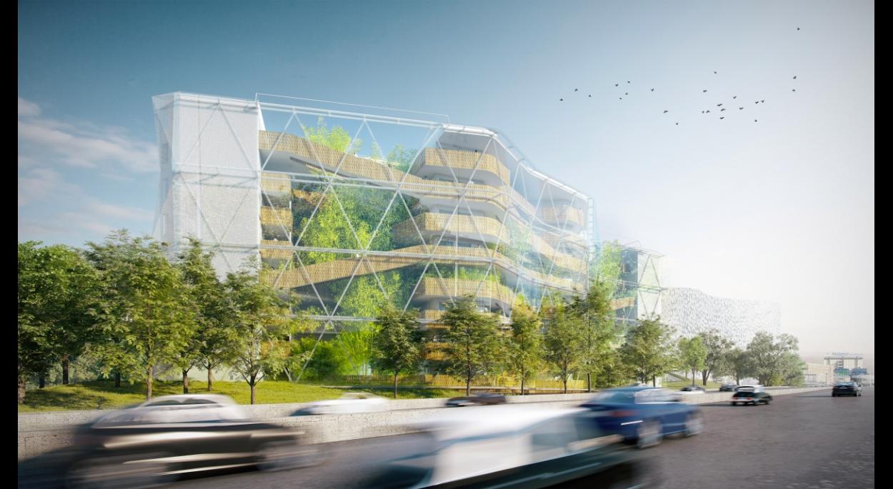 Vert dragon maison de la chine la cit u forall studio paris paris ordre des architectes - Maison de la chine boutique ...