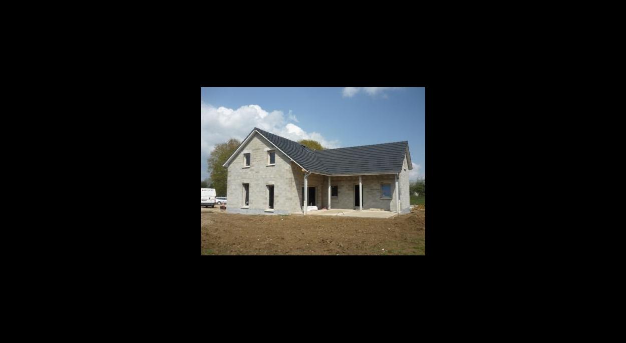 Maison en cours de finition